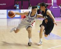 亞運女籃 中華對韓國(3)