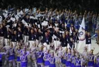 亞運開幕式 中華代表團進場