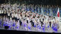 亞運開幕式 日本代表團進場