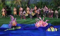 亞運開幕式 開幕演出展印尼文化特色(3)