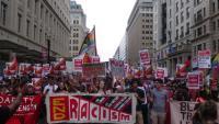 華府反種族主義者遊行