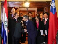 蔡總統與阿布鐸會談