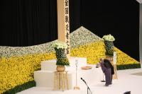 二戰73週年 日本於東京武道館舉行哀悼式