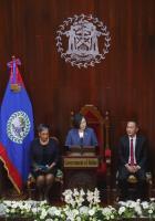 蔡總統貝里斯國會演說