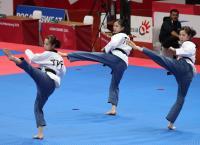 亞運跆拳道品勢摘銅 中華女團:在預期內