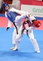 亞運跆拳道女子53公斤 蘇柏亞晉4強(2)