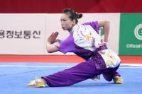 亞運女子長拳決賽 余芷瑄名列第8