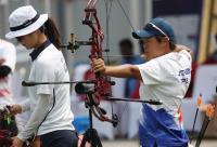 亞運射箭複合弓女子排名賽 陳麗如名列第10