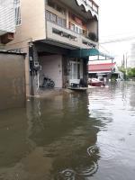 嘉義降超大豪雨 多個鄉鎮淹水(2)