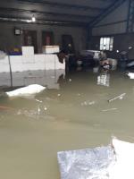 嘉義降超大豪雨 多個鄉鎮淹水(3)