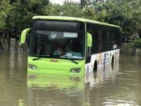 嘉義大雨道路積水(1)