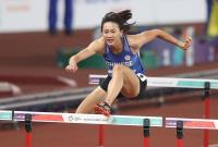 亞運田徑 謝喜恩100公尺跨欄出賽