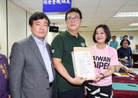 姚文智登記參選台北市長
