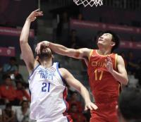 亞運男籃 中華4強戰不敵中國