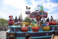 東京迪士尼過萬聖節  化為古怪幽靈世界