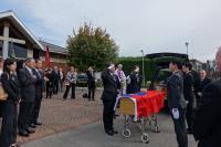 劉偉民與林永樂參加費茲派翠克葬禮