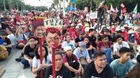 菲人示威 抗議杜特蒂獨裁