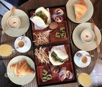 法國客也愛台味!   巴黎台式早午餐賣刈包、鹹酥雞