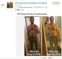 玩VR遊戲減肥? 外國網友五個月瘦了22公斤