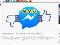 「拇指向下」  臉書新符號測試中!