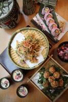 台北君悅以櫻花入菜  視覺味覺雙享受