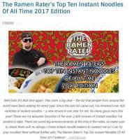 2017全球10大美味泡麵排行  百勝廚蟬聯冠軍