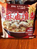 台灣花雕雞、麻油雞泡麵 意外在新加坡爆紅