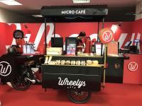 Wheelys綠能咖啡單車 快閃機捷北車站