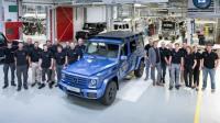 G-Class達 30萬輛里程碑,新車最快9月法蘭克福車展出