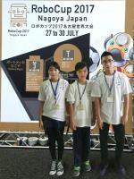 中華跳舞機器人代表隊   獲最傑出發表大獎