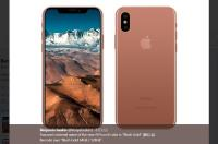 iPhone 8長怎樣 傳腮紅金款式吸睛