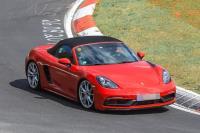 Porsche 718 Boxster GTS 無偽裝現身!