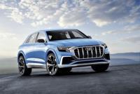 Audi Q8 「輕度偽裝車」現身德國街頭!