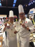 紐西蘭國際廚藝大賽 淡水福容主廚奪雙金
