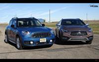 Mini Cooper S Countryman、Infiniti QX30直線加速見真章