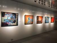 越南國寶漆畫家阮長靈個展台北101登場