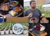 有機青農打造日式冰品推廣健康料理