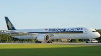 全球首架787-10 新航5月首航