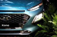 電動混搭 CUV Hyundai Kona Electric預告發表