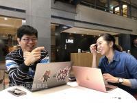 LINE擴大在台實習計畫 作品有機會上線