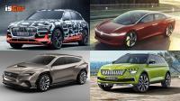 概念車大集合!Audi e-tron Concept、Volkswagen ID Vizzion Concept、Skoda Vision X Concept 與 Subaru Viziv Toure
