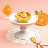 肯德基「香頌柑橘蛋撻」與「焦糖玫瑰鹽拿鐵」雙登場