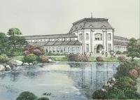 台灣建築文化遺產畫作展  呈現台灣各地歷史建築老故事