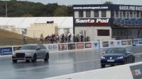 75歲頑童爆改600hp Golf R 零四加速上打Audi RS6