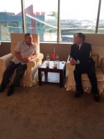 關島總督卡佛參訪國瑞集團