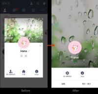 LINE個人主頁滿版登場 iOS新增聊天室瘦身