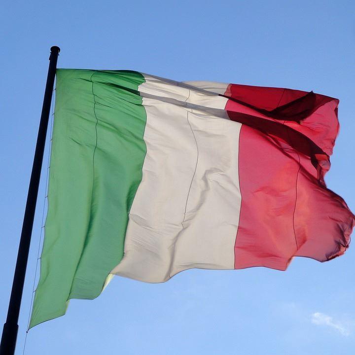 圖為義大利國旗。(圖取自Pixabay圖庫)