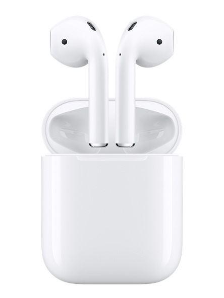 圖為蘋果AirPods耳機。(圖取自蘋果網頁www.apple.com)