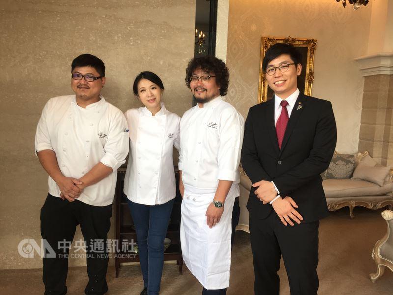 台中市樂沐法式餐廳曾多次入選亞洲50最佳餐廳,但主廚陳嵐舒(左2)8日透過臉書發出聲明表示,樂沐將在今年12月底結束營業。(資料照片)中央社記者郝雪卿攝 107年3月8日