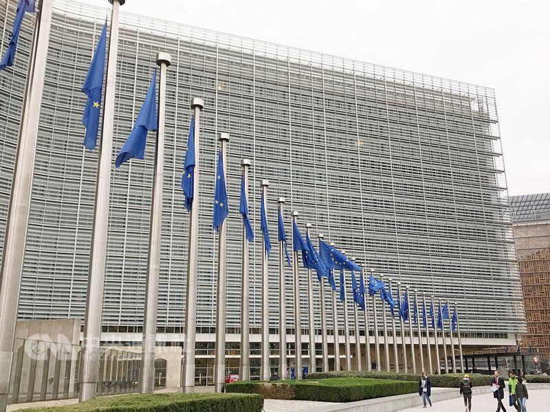 美國對進口鋼鋁祭出高關稅,在美國反世界貿易組織(WTO)下,歐盟捍衛多邊貿易體系,恐得更自立自強。(資料照片)中央社記者唐佩君布魯塞爾攝107年3月11日